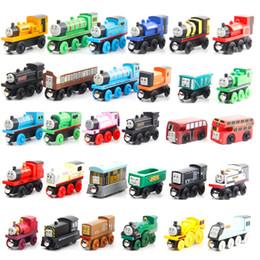 Zugspielzeug online-Thomas-Zug-Holz-Modell-Spielzeug, Minigröße, 59 Styles, Kompatibel mit Thomas Train Track, für Party Weihnachten Kid'Geburtstags-Geschenk, Haupt Ornament