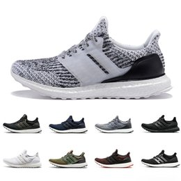 af4448169856 2019 New Ultra boost Running Shoes 3.0 4.0 Men Women Stripe Balck White Oreo  Designer Sneakers Ultraboost Sport Shoes Trainers Size 36-45