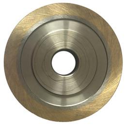 45 degrés biseautés diamant roue 45 ° frittés meule diamant en forme de table en verre machine Edger Portable ? partir de fabricateur