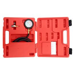 2019 cavo di lettura obd yentl US NAVE Scarico Indietro Tester di pressione Set Manometro Kit di attrezzi per sensori Cilindro per sensori Motori per autoveicoli Compressione motori a benzina
