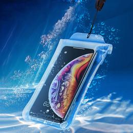 IPX8 Caso de telefone à prova d 'água para iPhone Xs Huawei P30 P20 Pro Samsung S10 S9 Xiaomi mi 9 8 À prova de água Bolsa Bolsa Capa de Fornecedores de sacos de rolo