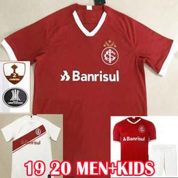 Fútbol online-19 20 Soccer Jersey Internacional Camiseta de fútbol Sport Club Internacional RED HOME 2019 2020 Colorado N.LOPEZ D'ALESSANDRO POTTKER KIT HOMBRE Uniforme para niños