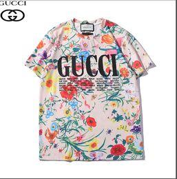 La camiseta de manga corta de color de primavera / verano de edición limitada 2019 de alta calidad se vende bien en Europa y América 100% algodón puro s-xxl desde fabricantes