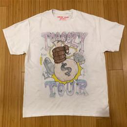 Maglietta da uomo online-Travis Scott ASAP ROCKY AWGE Asap Mob Cozy Tapes Maglietta Uomo Donna 1a: 1 Top Tees Travis Scott ASTROWORLD T-shirt