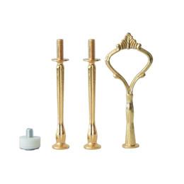 Wedding 3 Tier Cupcake Gold Silver Cup Mini Crown Shape Forniture per decorazione di vendita all'ingrosso da argento tazza di nozze fornitori
