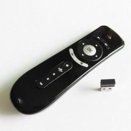 Elettronica giroscopica online-2.4GHz intelligente mouse Gyro Movimento Aria mouse remoto tastiera di controllo per Android TV Box elettronica senza fili Mini 3D Senso