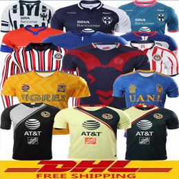 aa7bdd7b6 China DHL Free shipping 2018 2019 LIGA MX Club America soccer Jerseys 18 19  Monterrey UNAM
