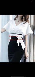 2019 faldas de longitud media de las mujeres Vestidos de verano vestido negro batas de femmes jupe vestidos para mujer túnica Moda bolso delgado cadera falda mid-length Ropa de mujer ropa de mujer rebajas faldas de longitud media de las mujeres