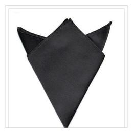Accessori di lusso Fazzoletto da uomo Moda Festa nuziale Fazzoletto Venduto Colore Tasca quadrata Fazzoletto Festa fazzoletto da sposa da camicia coreana bianca nera fornitori