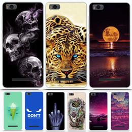 Аксессуары для мобильных телефонов Чехлы для мобильных телефонов Чехлы для Xiaomi Mi 4c Mi 4i Чехол Силиконовый мягкий PTU Задняя крышка для от