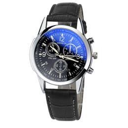 Zerotime # 501 2019 NOUVEAU montre-bracelet Faux en cuir Mens Analog Watch Montres boucle BK luxe top cadeaux pour garçon quotidienne Livraison gratuite ? partir de fabricateur