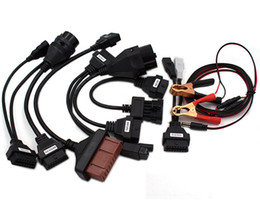 Bmw cdp on-line-Conjunto completo 8 cabos de carro para TCS CDP Pro Cable