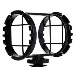 """Zoom-mikrofon online-TTKK C03 Camera Shoe Shockmount für Shotgun-Mikrofone mit einem Durchmesser von 1 """"bis 2"""" (passt in den Zoom H1)"""
