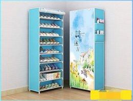 Armoire à chaussures facile à assembler, facile à installer, armoire à chaussures à 9 étages, armoire à chaussures aux meilleurs prix ? partir de fabricateur