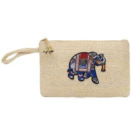 Pochette tissée pour broderie 2019 Nouveau sac à bandoulière sauvage à la mode Sac fourre-tout à tricoter Mini épaule Sac Messenger ? partir de fabricateur