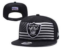 Wholesale Raiders New Официальный серый драфт на сцене года FIFTY Приспособленная шляпа Черный камуфляж Woodland Black Trucker FIFTY Snapback Регулируемые шариковые крышки