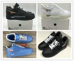 Weiß Forced 1 Niedrige Turnschuhe MCA MOMA BLACK COMPLEX CON Skateboard-Schuhe Herren Damen Designer-Sportschuh von Fabrikanten