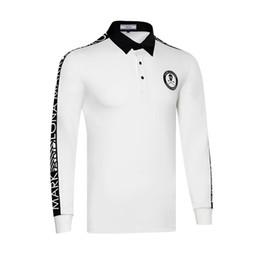 одежда для ту Скидка 2019new гольф рубашки мужчины быстро сухой гольф спорта длинные рукава рубашки одежды TU