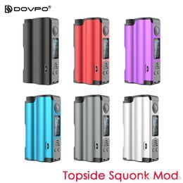 """Cigarrillo electronico dovpo online-Dovpo Topside Squonk Mod 90w 10ml Desarrollado por una sola batería con modo de control de temperatura de bypass 0.96 """"OLED 100% Electronic Cigarettes"""