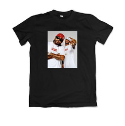 jones t shirts Promo Codes - Dipset Jim Jones & Juelz Santana Tee shirt Brand shirts jeans Print Short Sleeve Plus Size t-shirt colour jersey Print t shirt