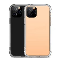 2019 пластиковые корпуса для iphone Мягкий ТПУ Прозрачный Чехол для телефона Защитная крышка Мягкие чехлы для iPhone 11 pro max X XR XS Max s10 note S10 чехлы