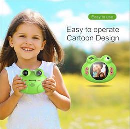 divertimento digital Desconto Câmera de câmera digital câmera sapo brinquedo divertido criança presente de aniversário animal de estimação