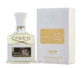 2019 muito bonito New Creed Aventus For Her Perfume para mulheres com Longa Duração alta Fragrance 75ml boa qualidade vêm com caixa