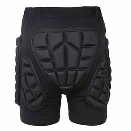 almofada de hip-hop Desconto Novo Homens Outdoor Snowboard Calças Esportes de armadura Pads Hips Pernas de protecção Shorts passeio Skateboarding Equipamento Hips acolchoados