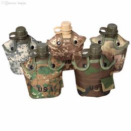 Vente en gros-1L de bouteille d'eau de camouflage pour le camping en plein air, randonnée pédestre NOUVEAU ? partir de fabricateur