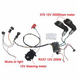 Çocuk elektrikli otomobil DIY aksesuarları teller ve şanzıman, Öz-yapımı oyuncak araba elektrikli araba çocuklar için parçaların tam set binmek nereden