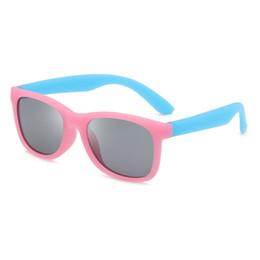 Schwimmende gläser online-TinffGan schwimmt auf dem Wasser Kinder polarisierten Sonnenbrillen UV400 Jungen Mädchen Sonnenbrillen schweben Kinder Brillen quadratischen Brillen Licht