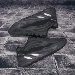 2019 la bolsa de asas del gimnasio del poliéster Nuevo 700 zapatos para correr para hombre de la mejor calidad wave runner 700 Kanye West Designer Sneakersyeezy700 botas para mujer de la marca 2019 con caja