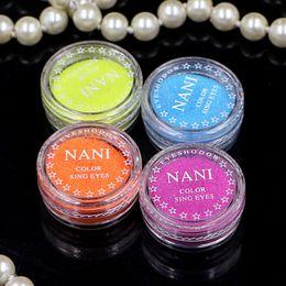 Perles en poudre en Ligne-Cosmétiques Yeux Maquillage Glitter Shimmer Powder Monochrome Baby Eyes Bride poudre de perle Glitters 24 Couleurs / 24pcs / lot