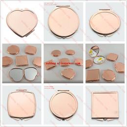 Süblimasyon boş sarf sıcak transfer baskı özel malzemeler gül altın renk oval yuvarlak kalp sqaure şekli 10 adet / grup nereden plastik boşluklar tedarikçiler