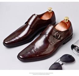 Super Design Importiert aus Kalbsleder Herren Lederschuhe, Luxus handgemachten Männer Oxford Schuhe, Superqualität Edler Geschäftsschuhe MCS 049