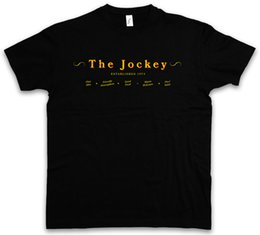 Canada LE JOCKEY II T-SHIRT Shameless Bar Restaurant UK Alibi Pub Frank Salle Gallagher Taille Discout Chaud Nouveau T-shirt À Capuche Hip Hop T-shirt supplier restaurant shirts Offre