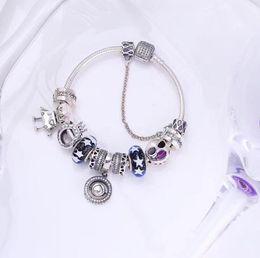 2019 verano nueva pulsera de mujer de lujo 925 de plata con cuentas Robot DIY colgante pulsera diseñador serpiente cadena de hueso pulsera regalo desde fabricantes