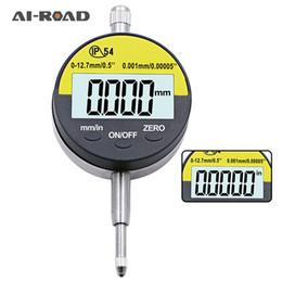 2019 indicateurs numériques Indicateur de cadran à affichage numérique IP54 / jauge à cadran étanche et résistant à l'huile 0-12.7mm de haute précision Indicateur Indicateur Outil de mesure indicateurs numériques pas cher