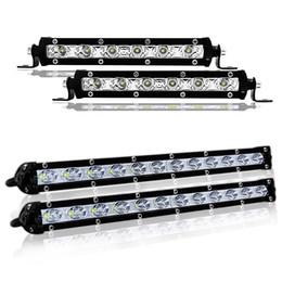 2019 faróis de nevoeiro Marca quente 18 W 36 W 6000LM LED Bar Luz de Trabalho Para Off Road 4x4, marinha, reboque, SUV, ATV, LED Modificado Faróis 12 V 24 V