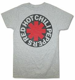 2019 красный перец чили Red Hot Chili Peppers Звездочка Круглый Проблемный Хизер Серая Футболка New Rhcp Для Молодежи Среднего возраста Старшая Футболка скидка красный перец чили