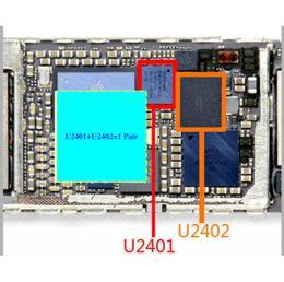 iphone touch ic Sconti 10pcs / lot migliore IC per lo schermo di iPhone 6 6 Plus touch IC chip U2401 U2402 Nero Argento 343S0694