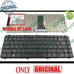 2019 computadoras portátiles epc Nuevo teclado portátil de interfaz de usuario del ordenador portátil para HP Compaq 6530s 6730s 6531s 6731s 6535s 6735s EEUU Intl - 490267-B31-B31 491274 V061126BS1