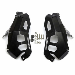 Cabeças de cilindro do motor on-line-Cilindro Cabeça Guards Protector tampa do motor Para a BMW R 1200 GS Adv R1200GS 2013-2017