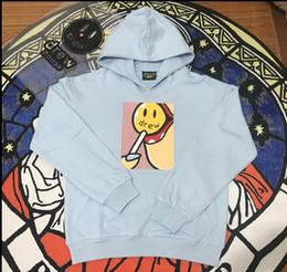Dibujo de algodón online-Streetwear de Drew Justin Bieber Lollipop sudadera con capucha de algodón hombres y mujeres pareja Sudadera con capucha ocasional Outwear