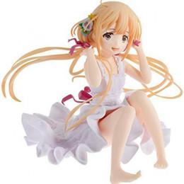 Anime cenicienta online-Futaba Anzu THE IDOLM @ STER CINDERELLA GIRLS Figuras de Anime japonesas Pvc Colección de modelos Acción Toy Girls 12cm