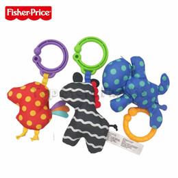 Prix jouets en Ligne-Fisher Price Jouet Pals Cadeau Coffret Bébé Drôle Jouets Dents Jouets ABS + Peluche Saisir Et Agiter Jouets