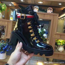 5a4ce8858de66 Marque de luxe italienne bottes femmes kelly ceinture bottes véritable  leahter mi chaussures de dame classique de la marque de mode modèle  vraiment cuir ...