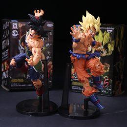 Japanese toys online-Son Goku Toys Dragon Ball Figuras de Acción Super Saiyan Toys Modelo de Mano Anime Japonés Presente de Cumpleaños 27mf F1