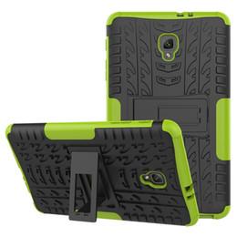 2019 ibridi da tavoletta Custodia Cover rigida per tablet Hybrid Kickstand TPU + PC per Samsung Galaxy Tab A 9.7 T550 8.0 / T350 con cavalletto ibridi da tavoletta economici