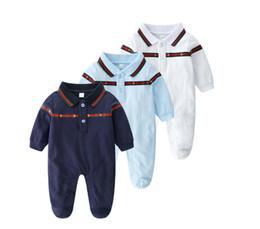 niños pequeños vestidos Rebajas 2020 Nueva llegada ropa de bebé Bebé algodón de solapa, manga larga, bordado de abejas, vestido de verano para niños y niñas ropa de niños de diseño 633